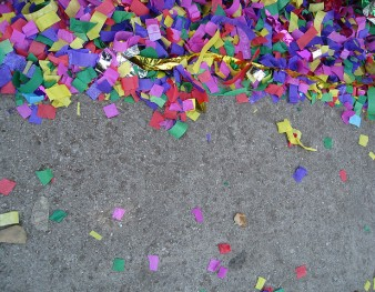 Confettis Carnaval de Mardi Gras