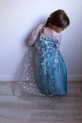 Costume Reine des Neiges