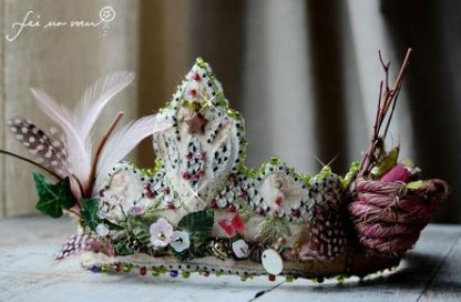 Couronne Epiphanie originale (crédit photo : lafeeunvoeu.canalblog.com)