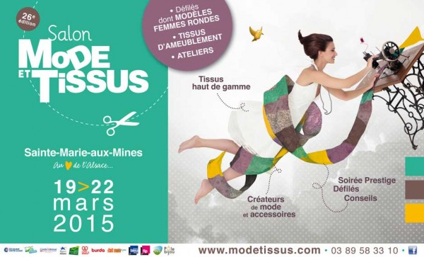 Salon Mode & Tissus Printemps/Été 2015