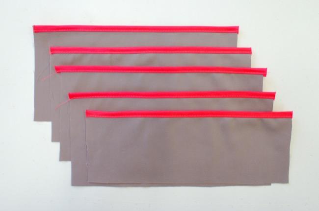 DIY pochette organiseur de sac