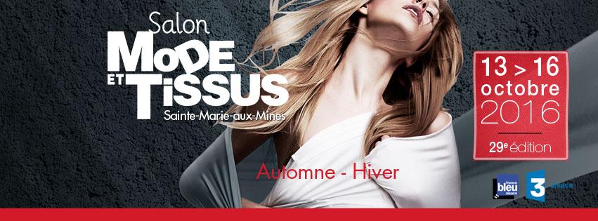 Salon Mode & Tissus Automne Hiver 2016-17
