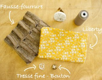 DIY couture : Snood en forme de triangle