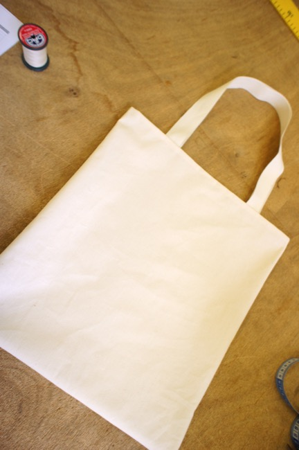 Couture d'un tote-bag