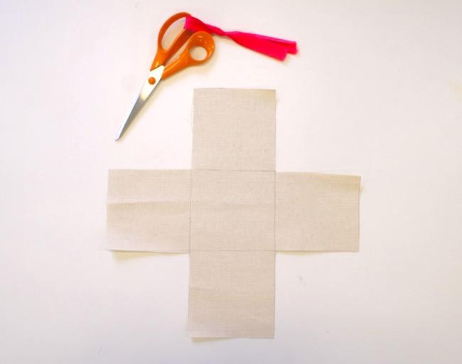 Tutoriel pas à pas : panier de rangement en tissu